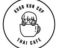 Khob Kun cup Thai cafe